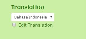 Pengaturan Website Multi Language